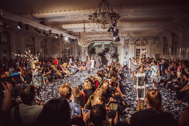 Nettle Fibre at London Fashion Week 2019